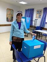 Voting in israel